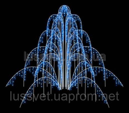 Световая фигура - фонтан  LUMIERE  3D FOUNTAINS  EF005