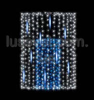 Световая фигура - фонтан  LUMIERE  3D FOUNTAINS EF025