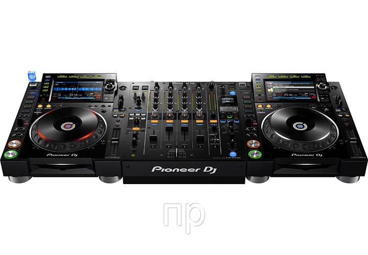 Комплект для DJ Pioneer 2 x CDJ-2000NXS2 + DJM-900NXS2