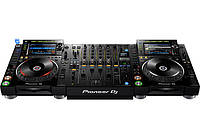 Комплект для DJ Pioneer 2 x CDJ-2000NXS2 + DJM-900NXS2 , фото 1