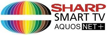 Sharp SmartTV Aquos Net+logo 2