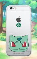 """Прозрачный силиконовый чехол """"Pokemon Go"""" для Apple iPhone 5/5S/SE"""
