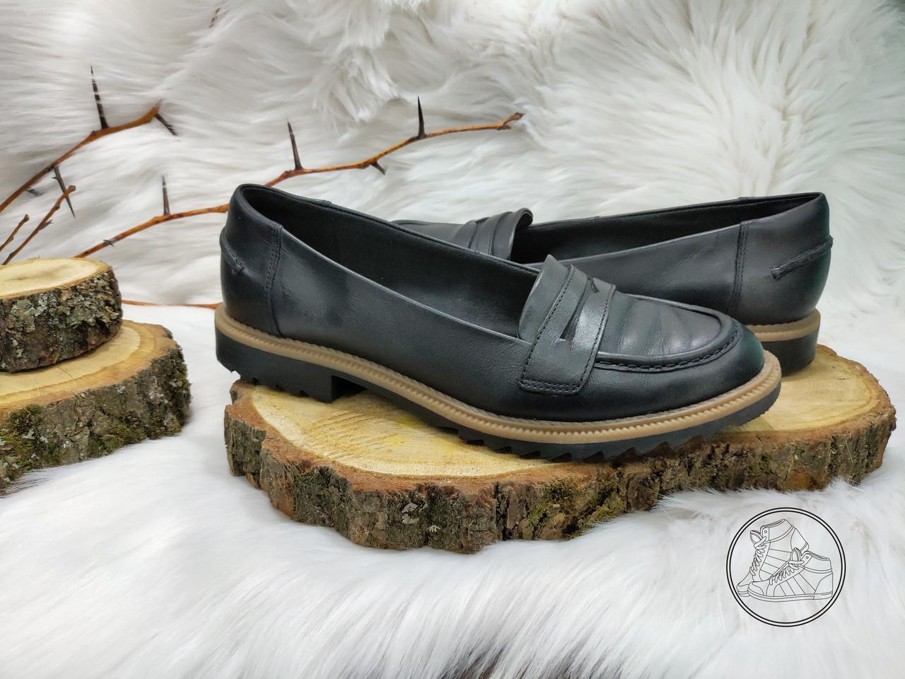 Туфли лофферы Clarks Clarks Griffin Milly (37,5 размер) бу