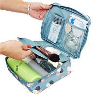Дорожная сумка для косметики Travel Wash Admission Package Blue косметичка для путешествий