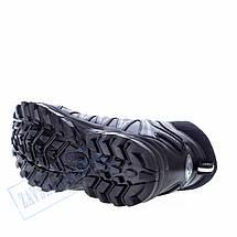 Высокие мужские кроссовки Bona черные BA12, фото 3