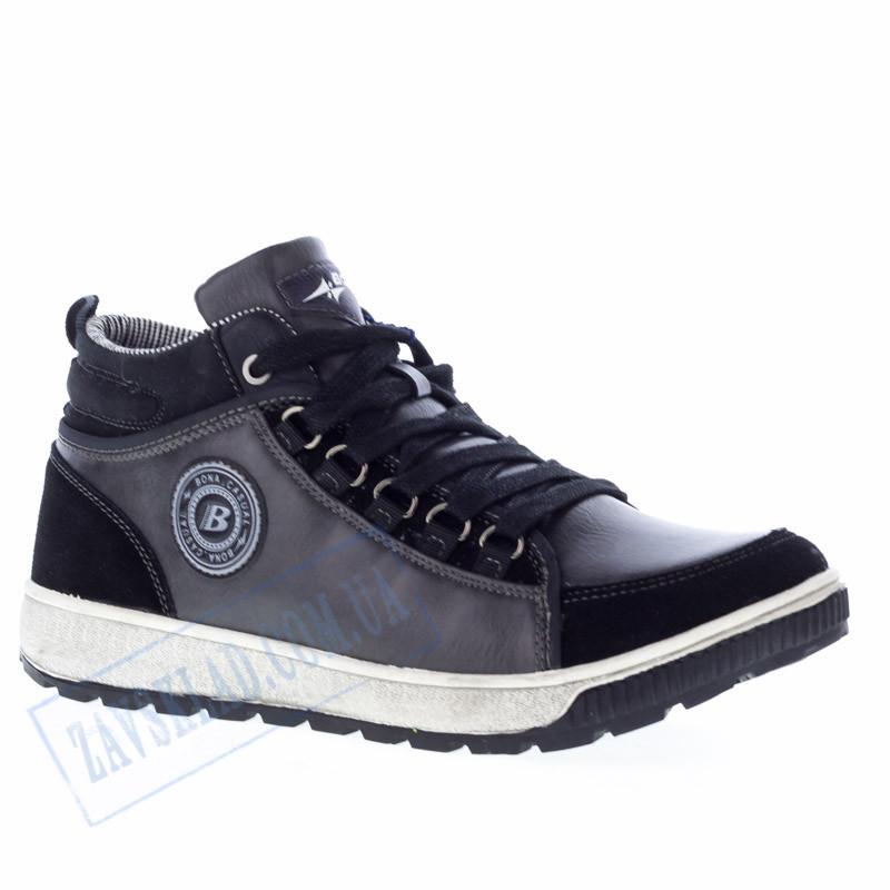 Мужские кроссовки Bona черные BA13