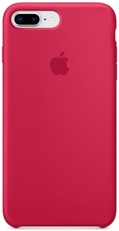 Чохол Silicone Case Apple iPhone 8 Plus/7 Plus (Rose Red)
