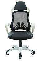 Кресло компьютерное Глория белый пластик, фото 1