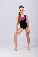Купальник-боди для занятий танцами и хореографией для девочки