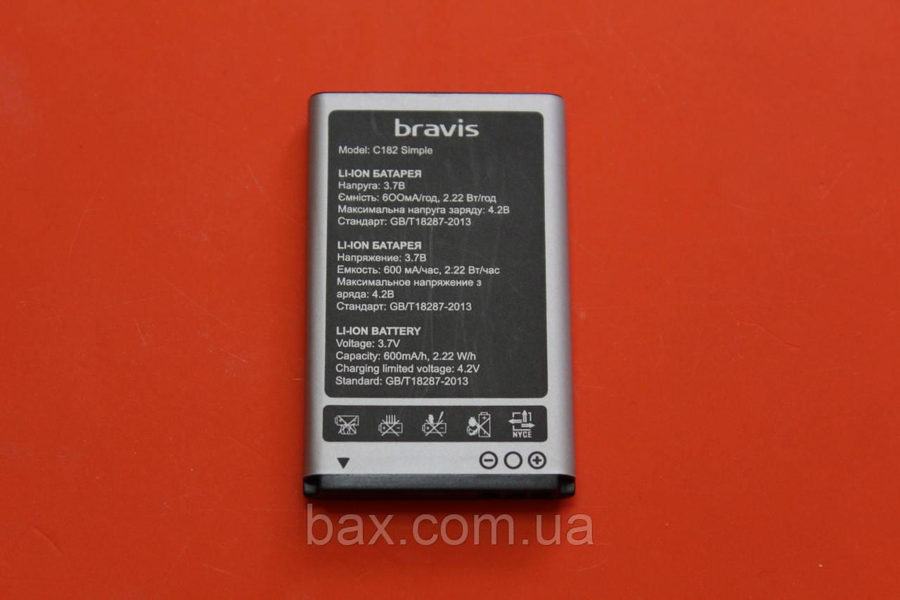 Акумулятор для Bravis C182 оригінал