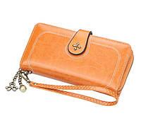 Жіночий гаманець BAELLERRY Fashion Long клатч Коричневий (SUN3867)