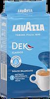 Кофе Lavazza DEK Decaffeinated Ground Coffee 250 г Лавацца без кофеина молотый