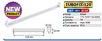 Держатель TUBOFIX-120  для светодиодной лампы Т8 (120см), фото 2
