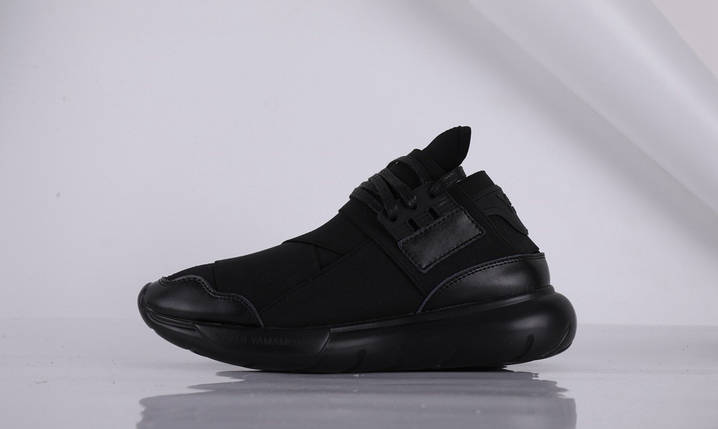 Женские Кроссовки Adidas YAMAMOTO Y-3 QASA NEAB черный, фото 2