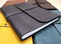 Софт-бук - кожаный блокнот А5 ручной работы от мастерской Wood & Leather, фото 1