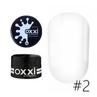 Гель паста Oxxi professional 5 гр. 2 (white)