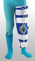 Жесткая шина для ноги с 5-тью металлическими ребрами жесткости Детский  ТУТОР-3Н UNIр-3 до 10 лет