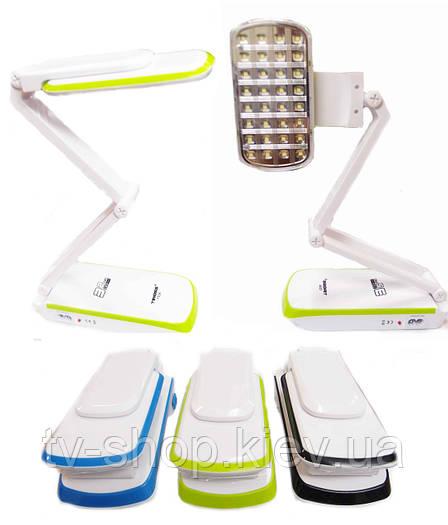 Лампа LED фонарь-трансформер TIROSS 32 диода (20 часов)