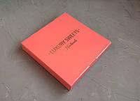 Подарочная коробка для конфет, коралл, 185*185*30