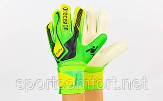 Воротарські рукавички Precision 5-ка, 6-ка, 7-ка (з захисними вставками на пальцях)