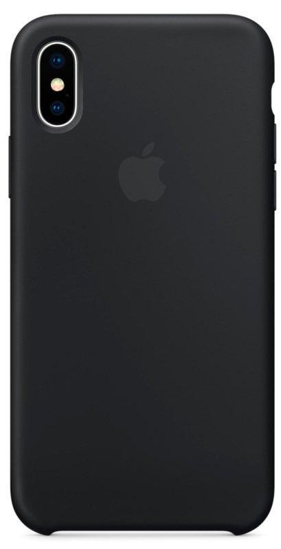 Чохол Silicone Case Apple iPhone X (Black)