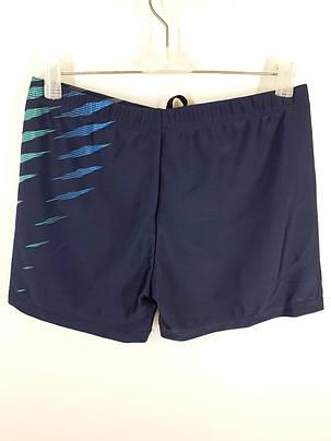 Плавки шорты мужские Волны 9063 синие на наши размеры 46, фото 2