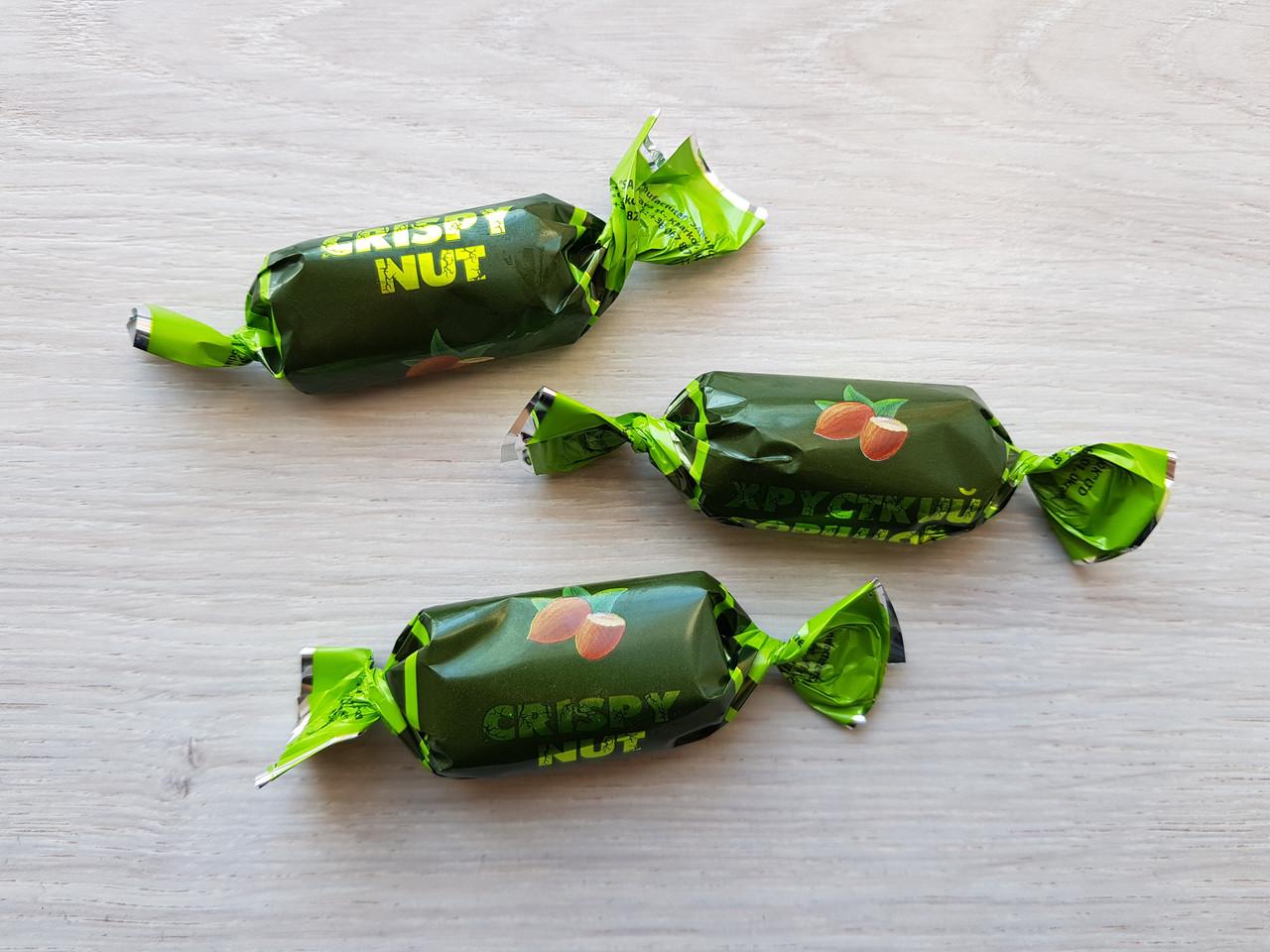 Конфеты Хрустящий орешек 1,8 кг.