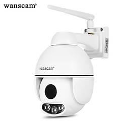 Вулична поворотна IP WIFI камера Wanscam K54 2mp FullHD 5x зум
