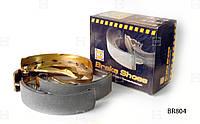 Колодка тормозная задняя Lanos- 90542863 (4шт.) BR804 HOLA