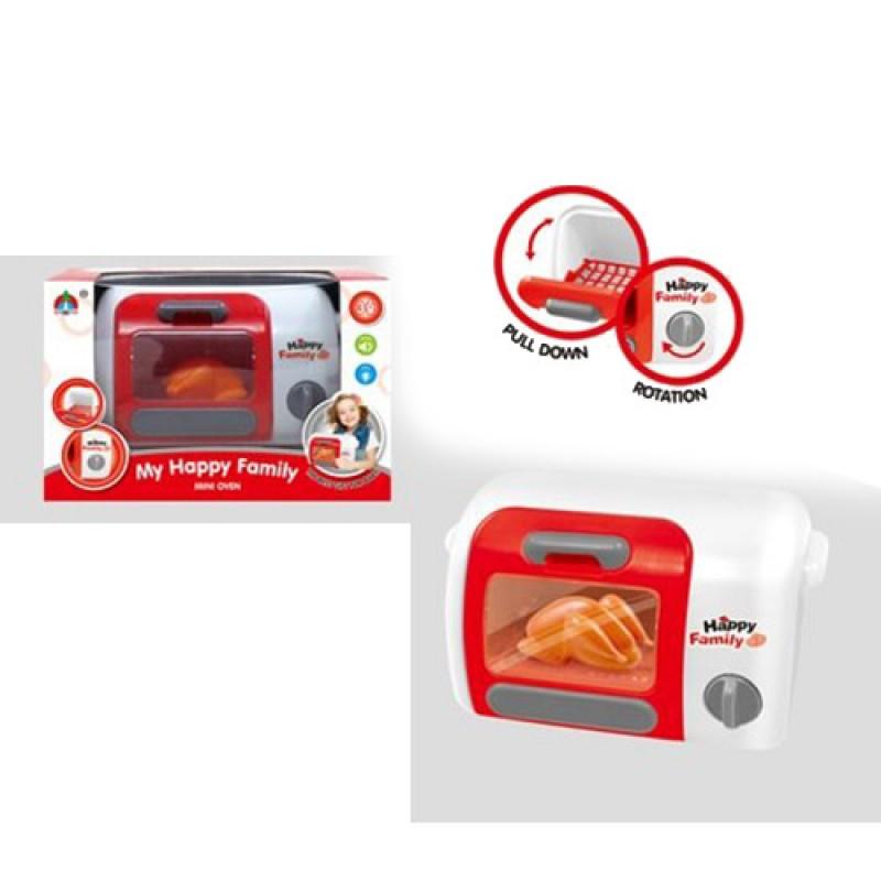 Детская Микроволновка 20 см, свет, детская бытовая кухонная техника, 5215