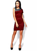 РАСПРОДАЖА!  Силуэтное платье с одним коротким рукавом, фото 1