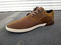 Туфли мужские летние кожаные 40 -45 р-р, фото 1