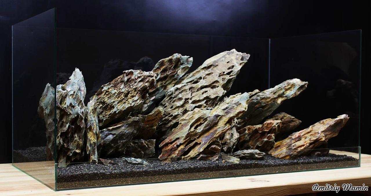 Массивная композиция из Дракона для аквариума от 200л