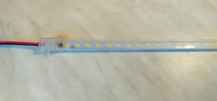 LED линейка 220V герметичная (1м) 72Led SMD5730 14W Epistar IP65 Белый (LT)