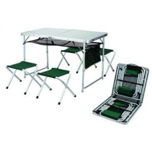 Стол раскладной Ranger + 4 стула в комплекте