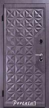 Двери квартирные, серия Люкс+Кале, модель Граф4/Граф2, гнутый профиль, коробка 100 мм, полотно 76 мм, KALE