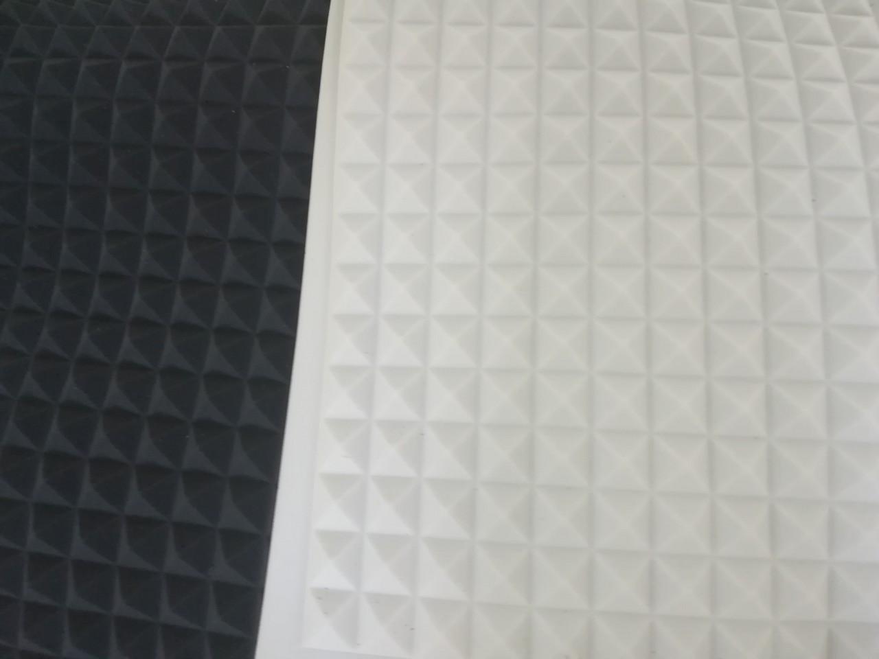 Поролон звукоизоляционный белый 200см * 100см, 25 мм