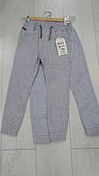 Детские летние котоновые брюки джоггеры для мальчиков оптом GRACE,разм 98-128 см