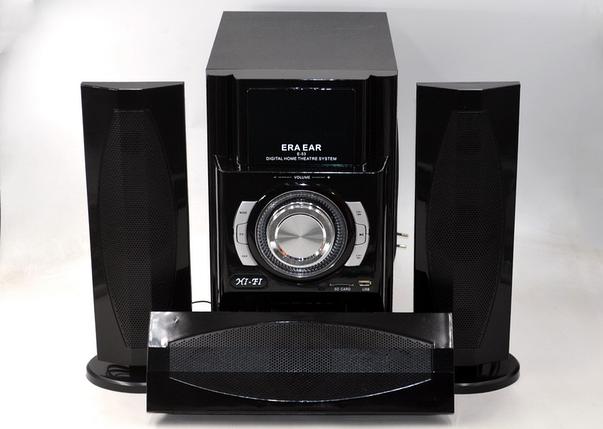 Акустическая система 3.1 Era Ear E-53 (60 Вт) домашняя акустика Bluetooth FM-радио USB SD-card, фото 2