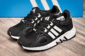 Кроссовки детские Adidas Equipment Running Support, черные (2541-3) размеры в наличии ► [  31 33  ]