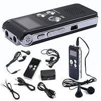 Цифровой Аудио Диктофон 4GB 650Hr с голосовым управлением