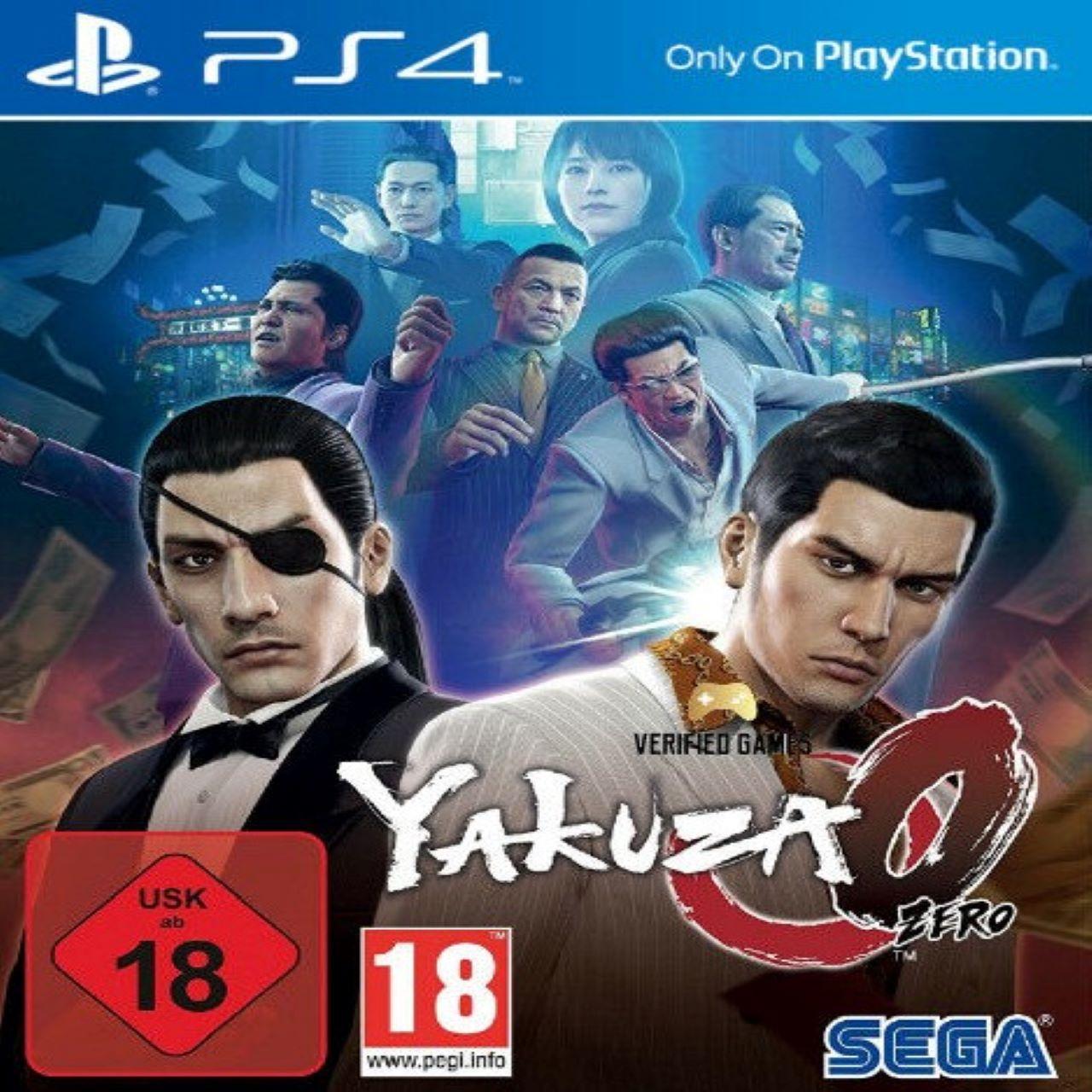Yakuza 0 ENG PS4 (Б/В)
