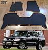 Коврики на Mitsubishi Pajero Wagon 3 '00-07. Автоковрики EVA