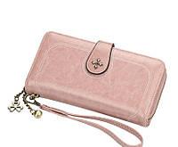 Жіночий гаманець BAELLERRY Fashion Long клатч Рожевий (SUN3871)
