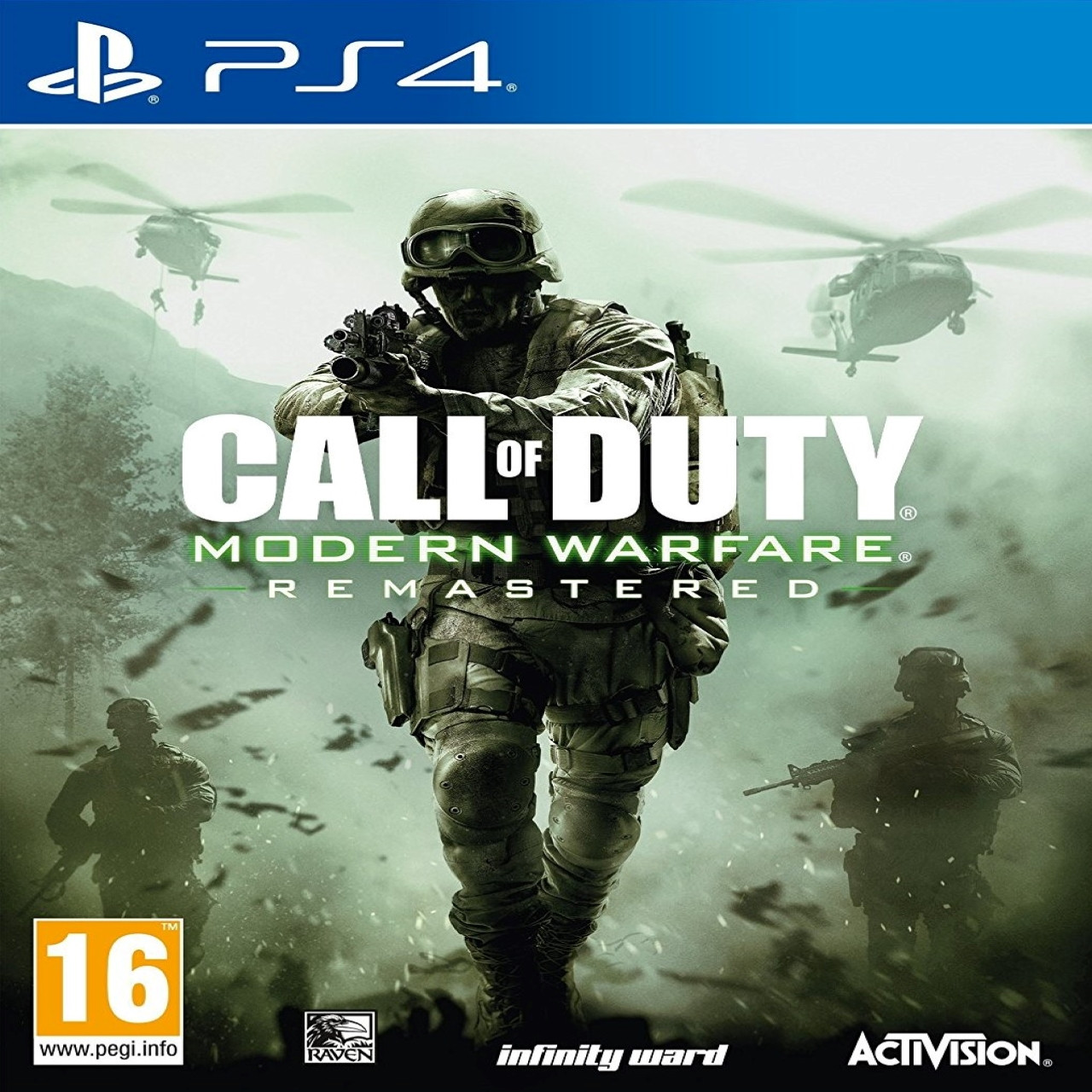 Call of Duty: Modern Warfare Remastered (англійська версія) PS4 (Б/В)