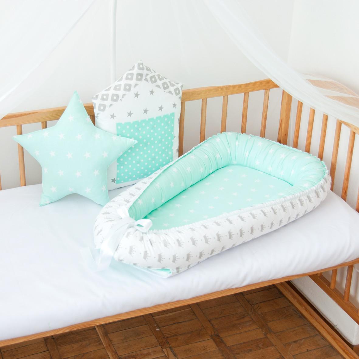 """Гнездышко-кокон для новорожденных """"Mint"""""""