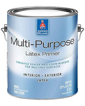 Грунтовка Multi-Purpose Latex Primer Sherwin-Williams белая, 3,72л (грунт мульти пурпоз шервин вильямс), фото 2