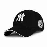 Бейсболка NY черная, кепка New York