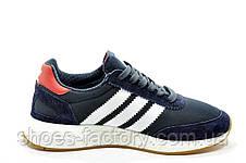 Кроссовки унисекс в стиле Adidas Originals Iniki Runner, Dark blue, фото 3