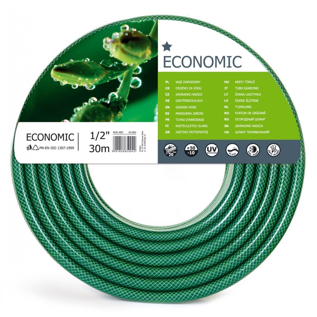 Садовый шланг Cellfast ECONOMIC 30 м 1/2 (10-002)